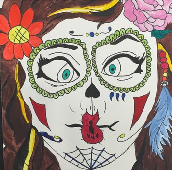 Day of the Dead- Facial Proportions Portraits