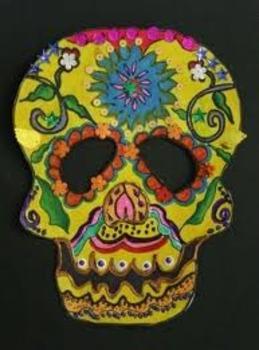 Day of the Dead Mask SmartBoard Lesson