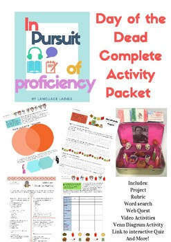 Day of the Dead Mini-Unit - Complete Activity Packet