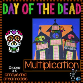 Day of the Dead Math - Multiplication Area Models