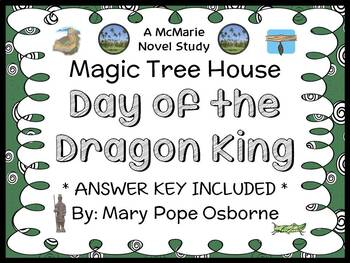 Day of the Dragon King: Magic Tree House #14 Novel Study /