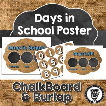 Days in School Display