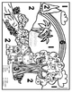 Days of Creation Color-by-Number and Coloring Pages