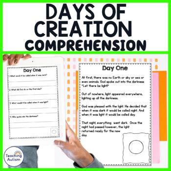 Days of Creation Comprehension