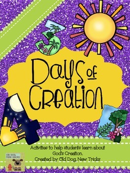 Days of Creation, student made booklets and interactive activit