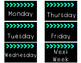 Days of the Week Labels Freebie