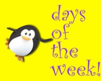 Days of the Week Sing-along (with video)