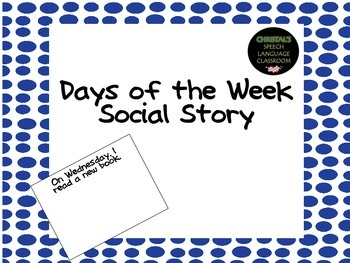 Days of the Week Social Story