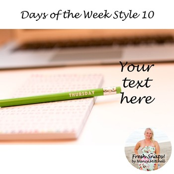 Days of the Week Styled Desk Image 10