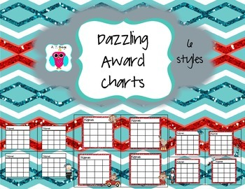 Dazzling Behavior Chart Set