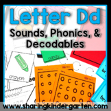 Letter Dd {Print & Play Pack}