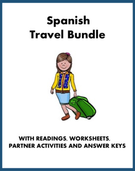 De viaje Lecturas ~ Spanish Travel Bundle (restaurante, ho