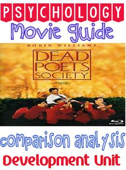 Dead Poets Society Movie Guide & Comparison Analysis Worksheet