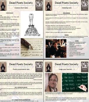 Dead Poets Society (film) - full teaching unit