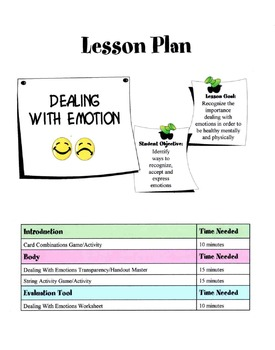 Dealing With Feelings & Emotions Lesson