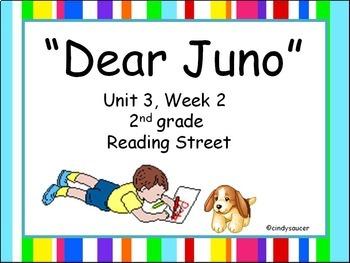 Dear Juno, Unit 3, Week 2, 2nd Grade PowerPoints