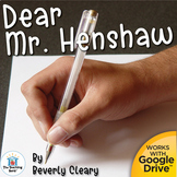 Dear Mr. Henshaw Unit Novel Study