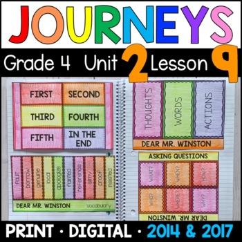 Journeys 4th Grade Lesson 9: Dear Mr. Winston (Supplementa