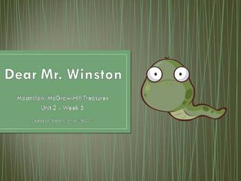 Dear Mr. Winston - Lesson Introduction