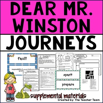 Dear Mr. Winston Journeys Fourth Grade Supplemental Materials