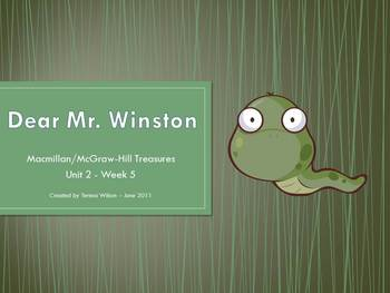 Dear Mr. Winston - Vocabulary