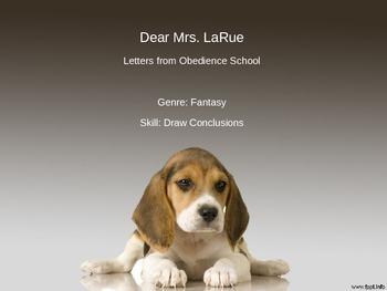 Dear Mrs. LaRue PowerPoint - 4th Grade Treasures