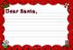 Dear Santa Writing Templates