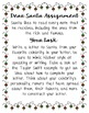 Dear Santa from Your Favorite Celebrity: A Creative Writin