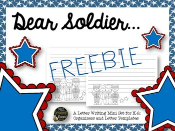 Dear Soldier...A Letter-Writing Set for K-4