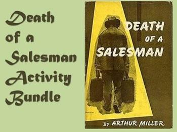 Death of a Salesman Lesson & Activity Bundle