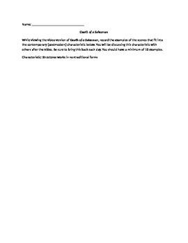 Death of a Salesman Video form