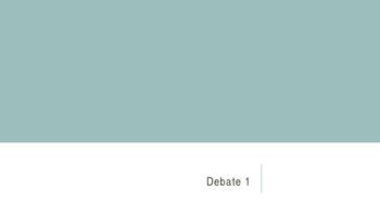 Debate Basics