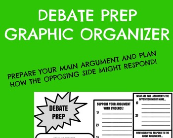Debate Prep Worksheet