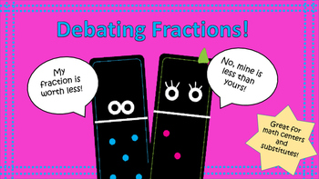 Debating Dominoes: Comparing Fractions