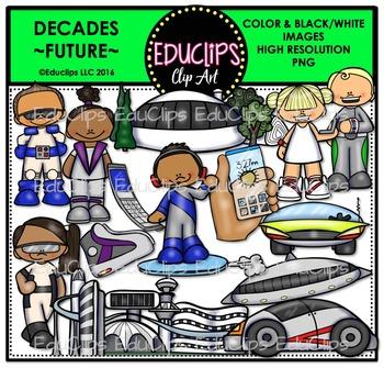 Decades-Future Clip Art Bundle