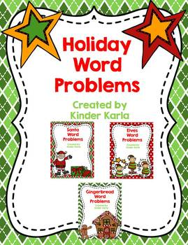 December Daily Word Problems