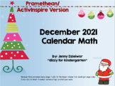 December 2016 Calendar for the Promethean Board (ActivBoard)