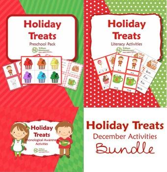 Holiday Treats December Activities Bundle
