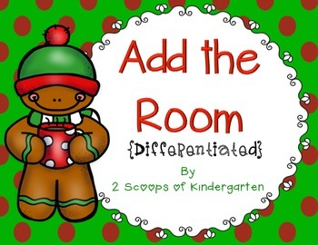 December Add the Room (Differentiated) Common Core Aligned