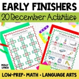 Early Finishers - December