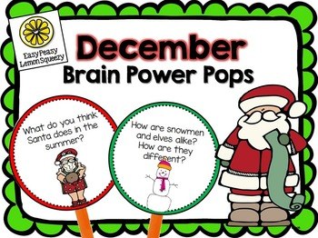 December Brain Power Pops