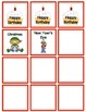 December Calendar Numbers with Patterns