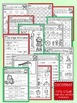 December Christmas First Grade Math and Literacy NO PREP C