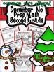 December Christmas No Prep ELa and Math Packet (2nd Grade)