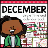 December Circle Time and Calendar Resources