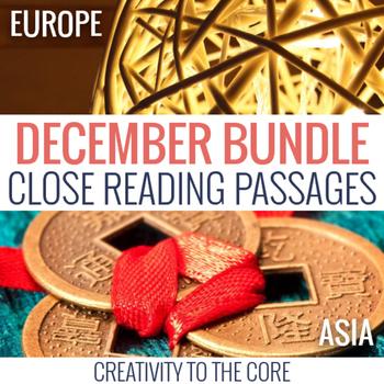December Close Reading Bundle
