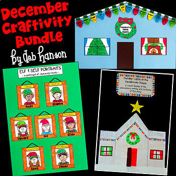 December Craftivities BUNDLE