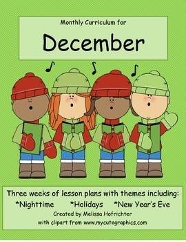 December Curriculum