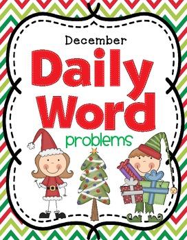 December Daily Math