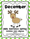 December Daily Sentence Editing